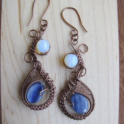 Moonstone and Kyanite