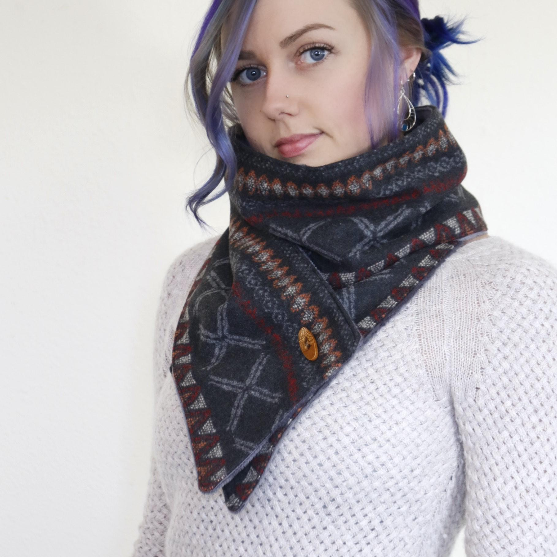 Dark Gray Scarf